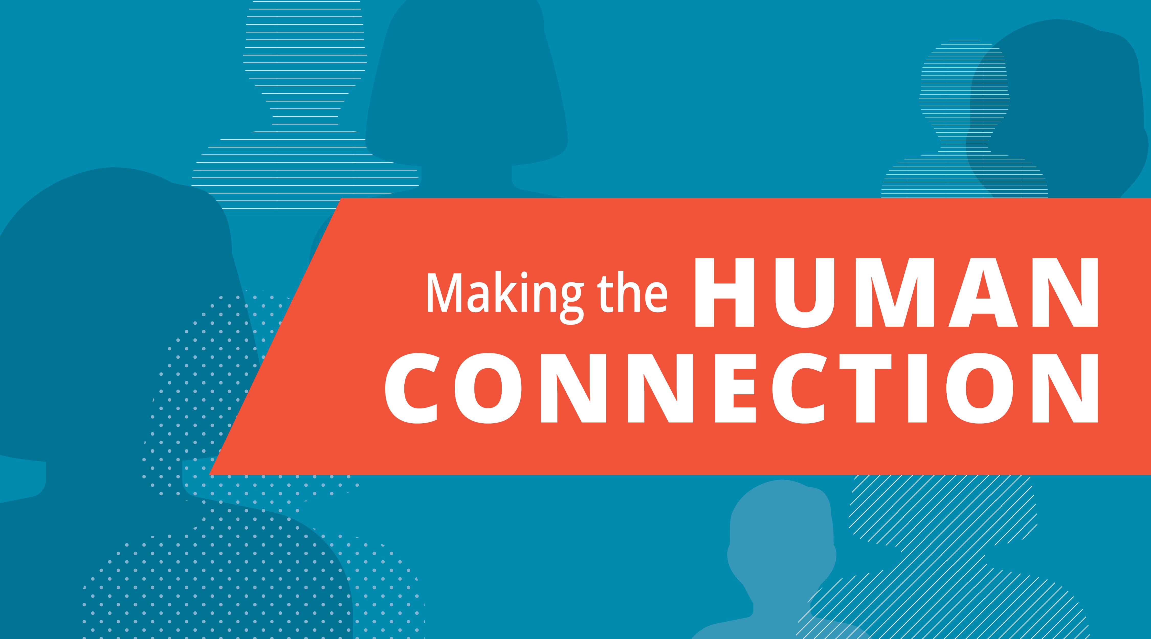 header image - making human connections